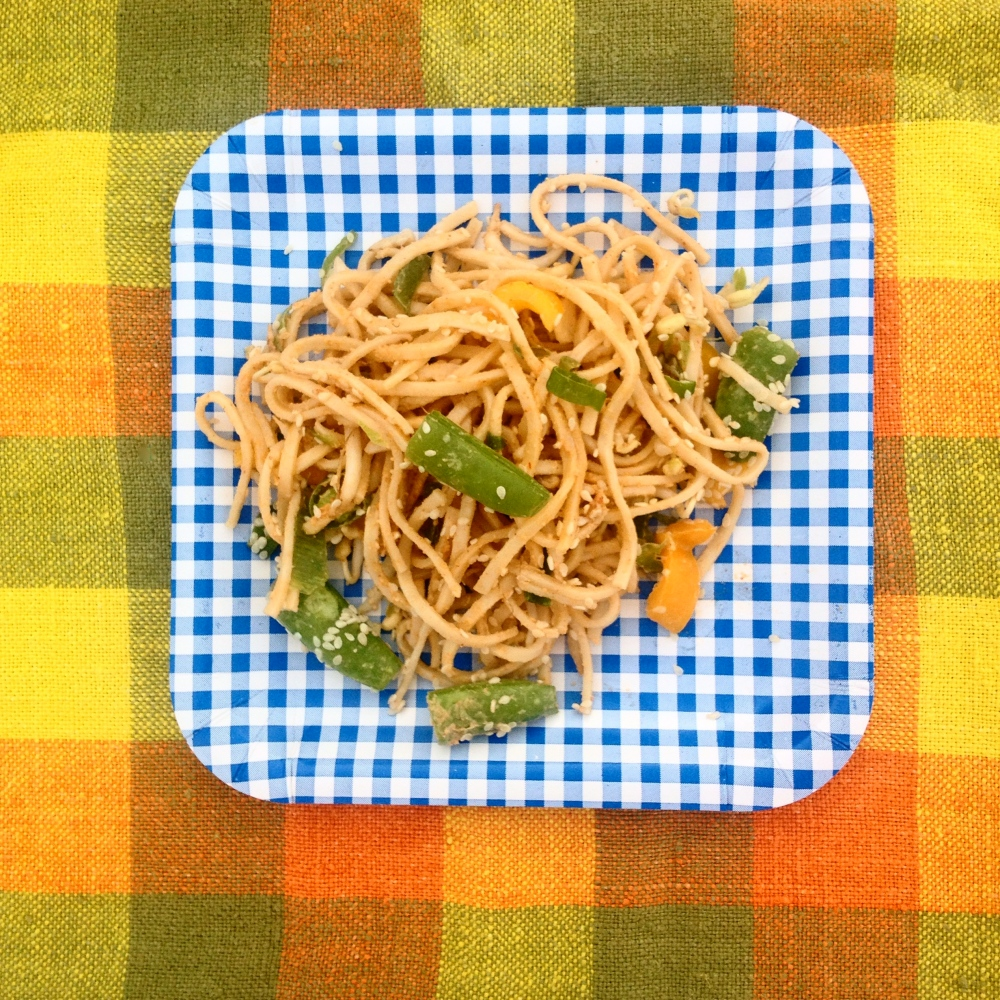 Summery Sesame Noodles
